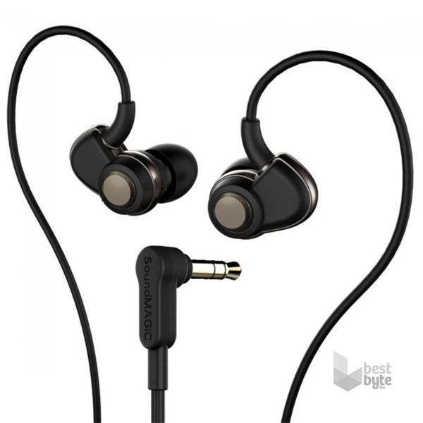 SoundMAGIC PL30+ In-Ear fekete-szürke fülhallgató