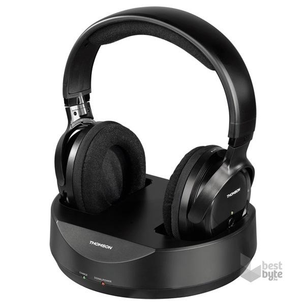 Sony MDRRF855RK.EU8 fekete vezeték nélküli fejhallgató - BestByte.hu d88150fba3