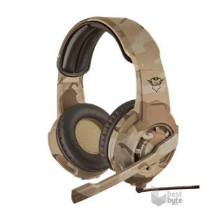 Trust GXT 310D Radius desert camo gamer headset - BestByte.hu f71eb96c24