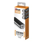 Trust Urban Primo 2200mAh fekete power bank
