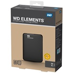 "Western Digital Elements Portable WDBUZG5000ABK 2,5"" 500GB USB3.0 fekete külső winchester"