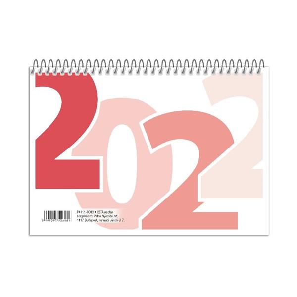 23TA 2022-es asztali naptár - 1