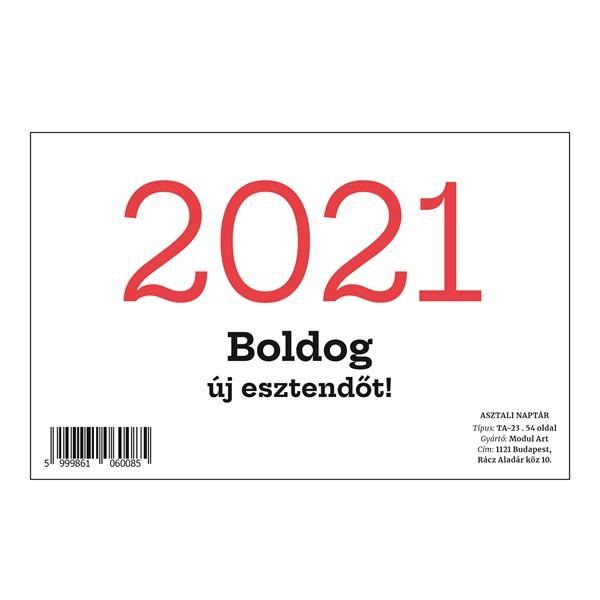 23TA asztali naptár