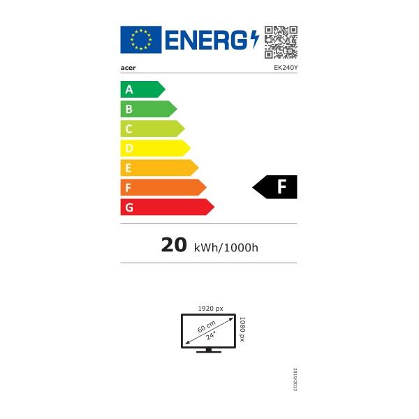 """Acer 23,8"""" EK240YAbi LED IPS HDMI monitor - 1"""