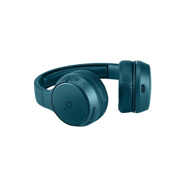 Acme BH214T On-ear Bluetooth mikrofonos kékeszöld fejhallgató - 4