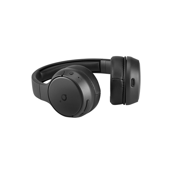 Acme BH214 On-ear Bluetooth mikrofonos fekete fejhallgató - 4