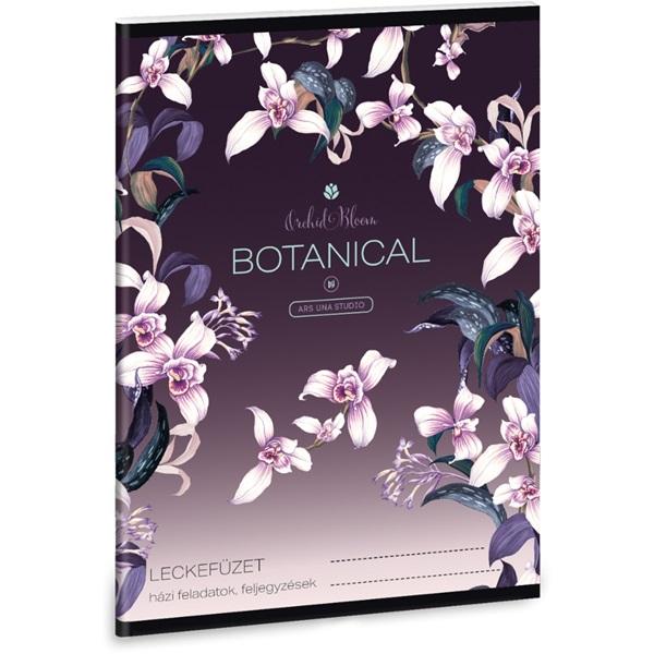 Ars Una Botanic Orchid A5 leckefüzet - 1
