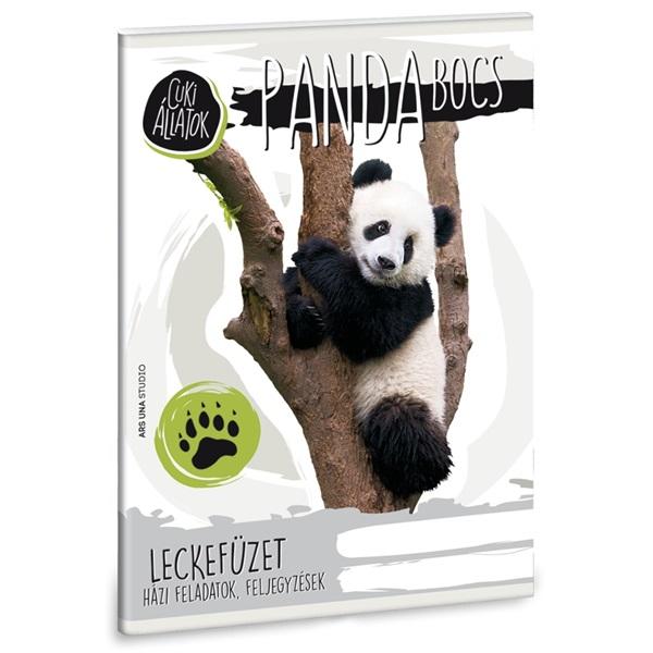 Ars Una Cuki-Panda A5 leckefüzet - 1