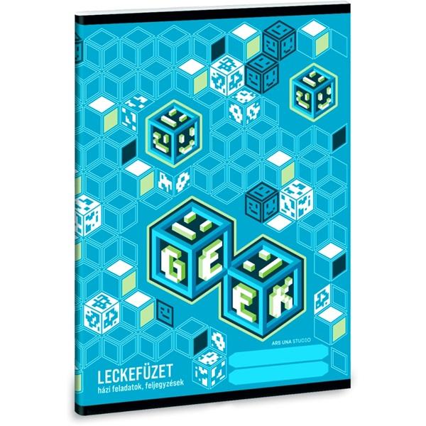Ars Una Geek 5065 A5 leckefüzet - 1