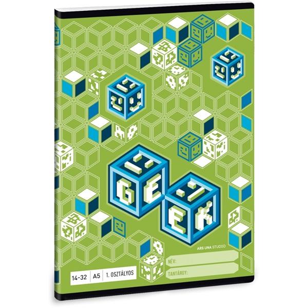 Ars Una Geek A5 14-32 1.osztályos füzet - 1