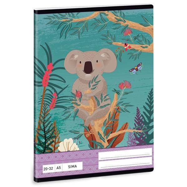 Ars Una Kirra Koala A5 20-32 sima füzet - 1