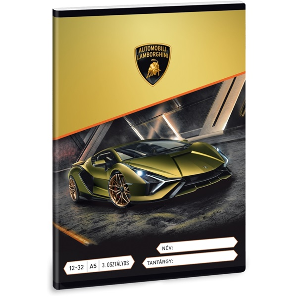 Ars Una Lamborghini A5 12-32 3.osztályos füzet - 1