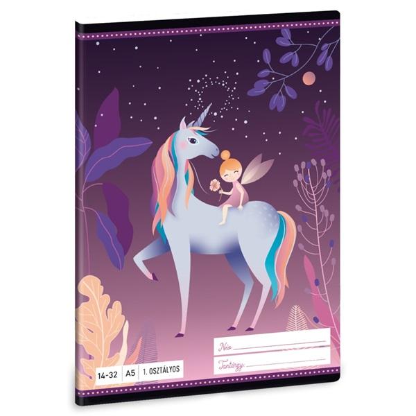 Ars Una Magic Forest A5 14-32 1.osztályos füzet - 1