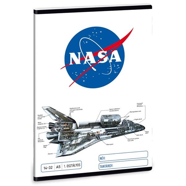Ars Una Nasa-1 5063 A5 14-32 1.osztályos füzet - 1