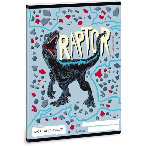 Ars Una Raptor A5 12-32 3.osztályos füzet - 1