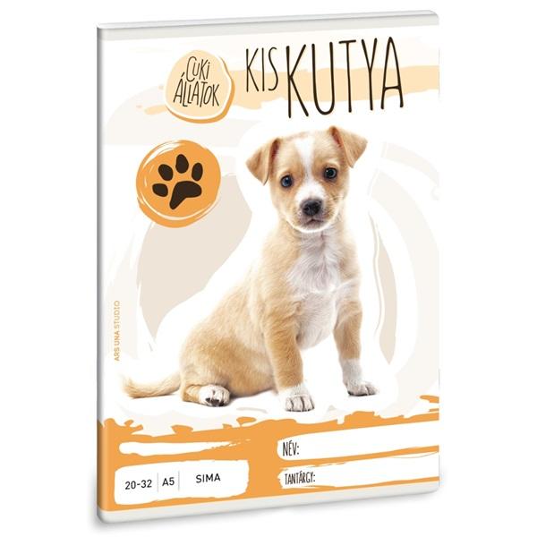 Ars Una cuki kiskutya A5 20-32 sima füzet - 1