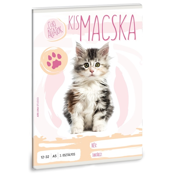 Ars Una cuki macsak A5 12-32 3.osztályos füzet - 1