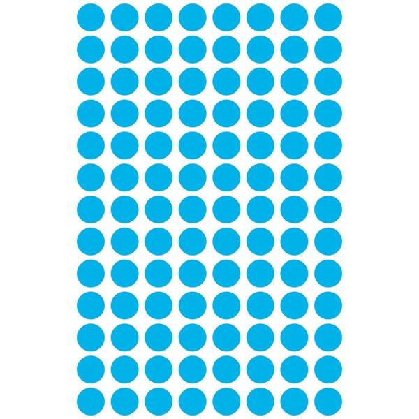 Avery 3011 8mm 416db-os kék jelölőpont - 2