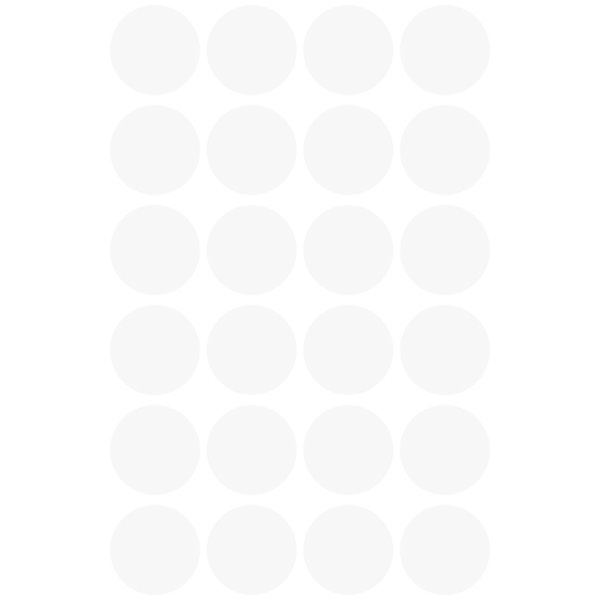 Avery 3170 18mm öntapadó 96db-os fehér jelölőpont - 2