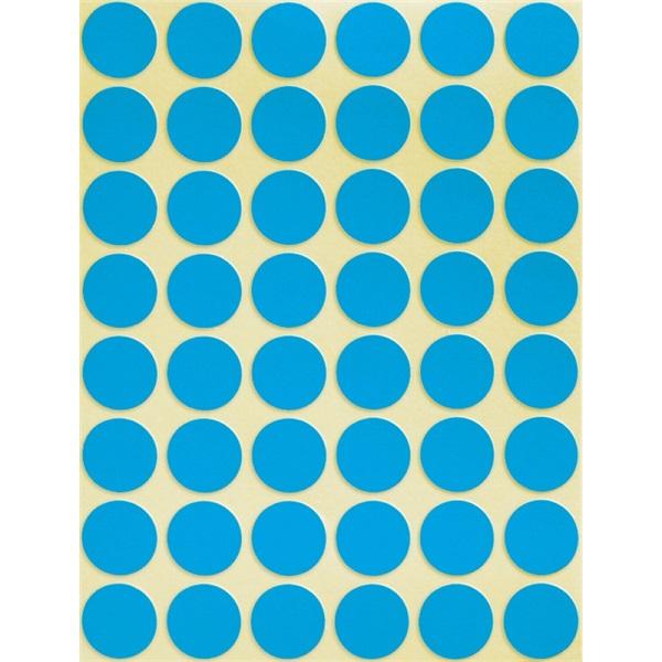 Avery 3375 18mm 1056db-os kék jelölőpont - 2