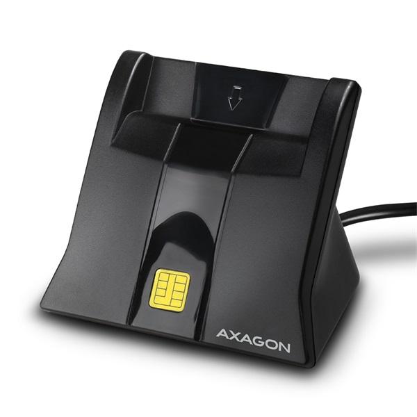 Axagon CRE-SM4 USB Smart álló kártyaolvasó