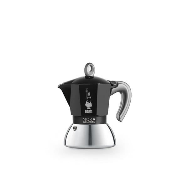 Bialetti Moka 6932 Induction 2 adagos fekete kotyogós kávéfőző