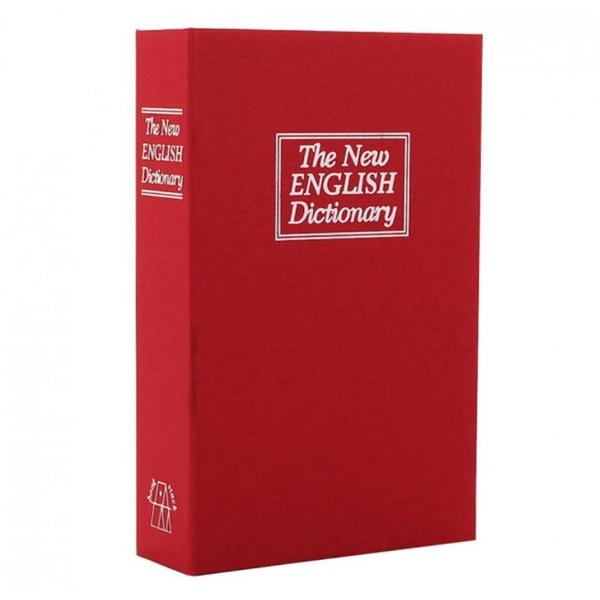 Bookcase értéktároló könyv kazetta - 1