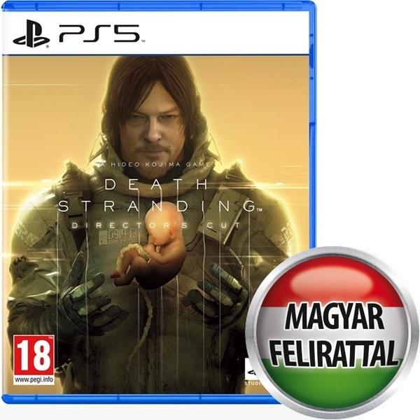 Death Stranding Director`s Cut PS5 játékszoftver a PlayIT Store-nál most bruttó 15.999 Ft.