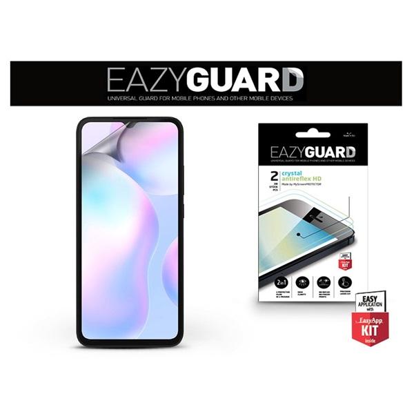 EazyGuard LA-1722 Redmi 9A/9AT/9C Crystal/Antireflex HD 2db kijelzővédő fólia - 1