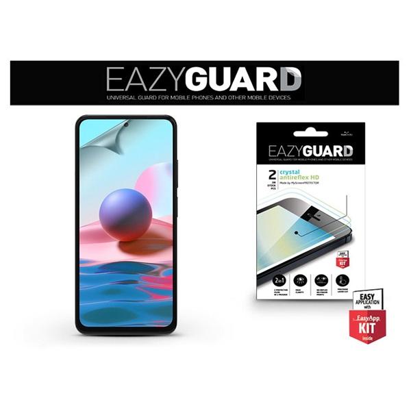 EazyGuard LA-1845 Xiaomi Redmi Note 10/Note 10S (Crystal/Antireflex HD) 2db-os kijelzővédő fólia - 1