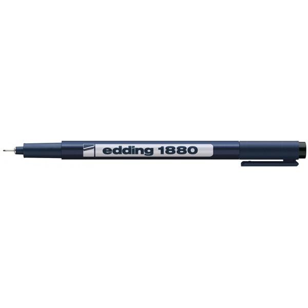 Edding 1880 0,3mm fekete tinta műszaki-rajz irón - 1