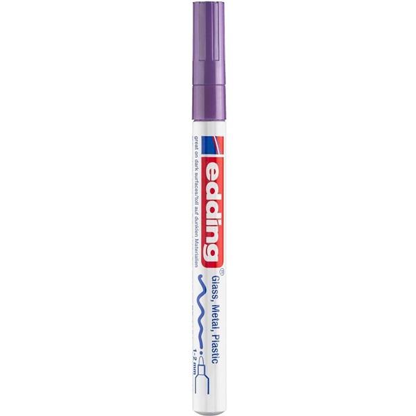 Edding 751 CR metál lila lakkmarker - 1