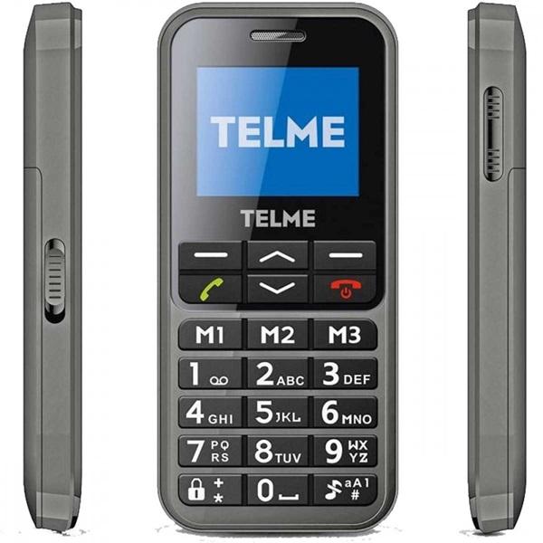 """Telme C151 1,8"""" szürke mobiltelefon - 1"""