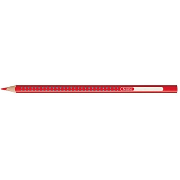 Faber-Castell Grip 2001 piros színes ceruza - 1