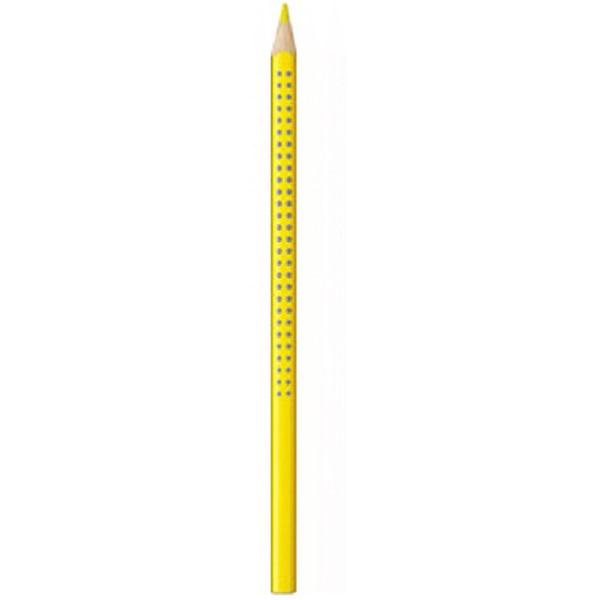 Faber-Castell Grip 2001 sárga színes ceruza - 1