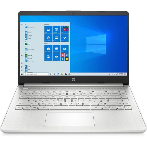 """HP 14s-fq0016nh laptop (14""""FHD AMD Ryzen 3-4300U/Int. VGA/8GB RAM/512GB/Win10) - ezüst - 1"""