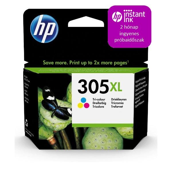 HP 3YM63AE (305XL) háromszínű nagykapacítású tintapatron - 1