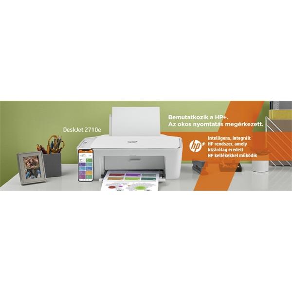 HP DeskJet 2710E tintasugaras multifunkciós Instant Ink ready nyomtató - 12