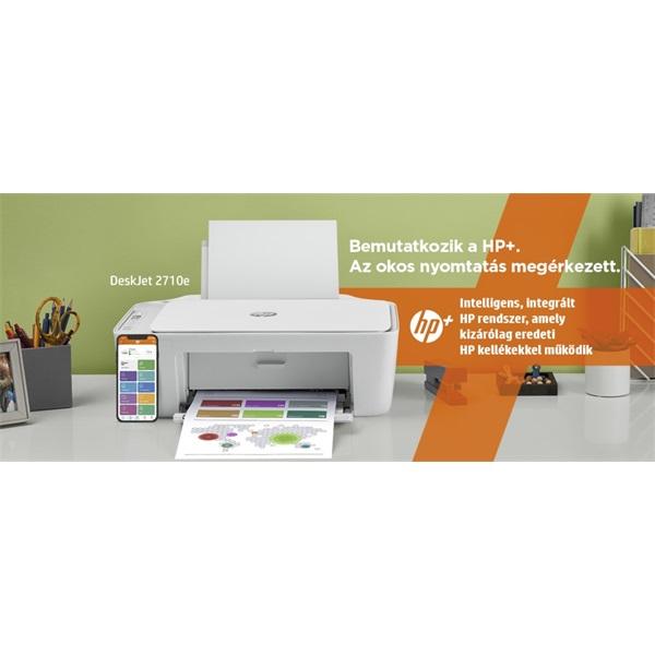 HP DeskJet 2710E tintasugaras multifunkciós Instant Ink ready nyomtató - 13