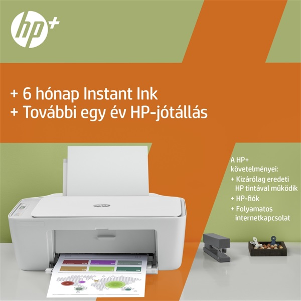 HP DeskJet 2710E tintasugaras multifunkciós Instant Ink ready nyomtató - 17
