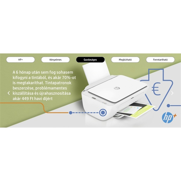 HP DeskJet 2710E tintasugaras multifunkciós Instant Ink ready nyomtató - 20
