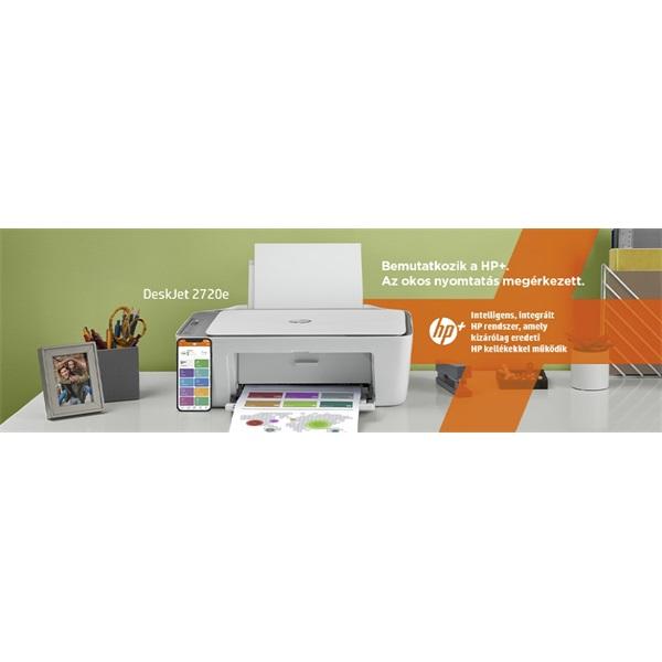 HP DeskJet 2720E tintasugaras multifunkciós Instant Ink ready nyomtató - 12