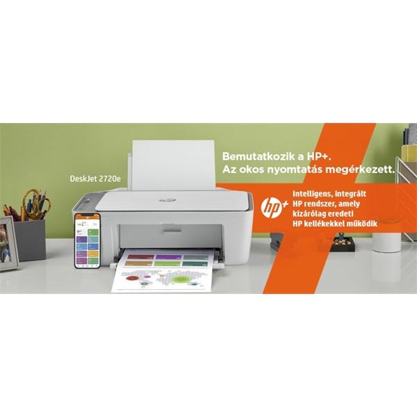 HP DeskJet 2720E tintasugaras multifunkciós Instant Ink ready nyomtató - 13