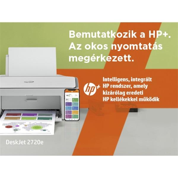 HP DeskJet 2720E tintasugaras multifunkciós Instant Ink ready nyomtató - 14