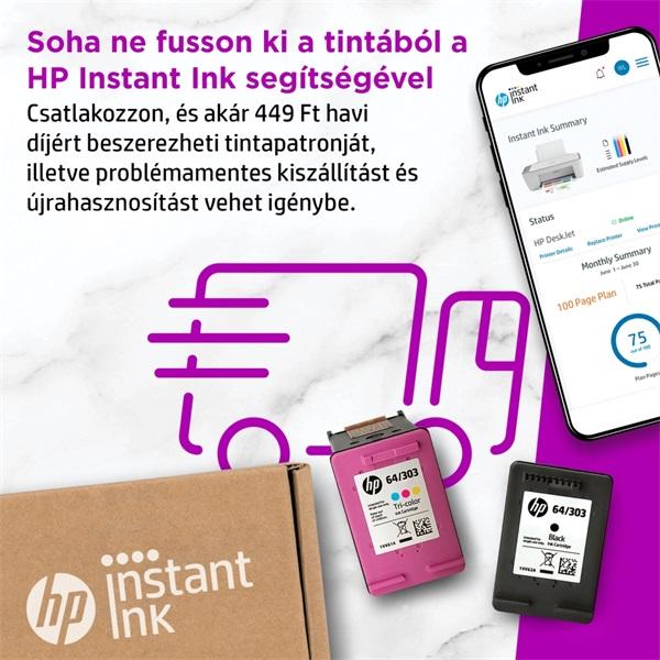 HP DeskJet 2720E tintasugaras multifunkciós Instant Ink ready nyomtató - 15