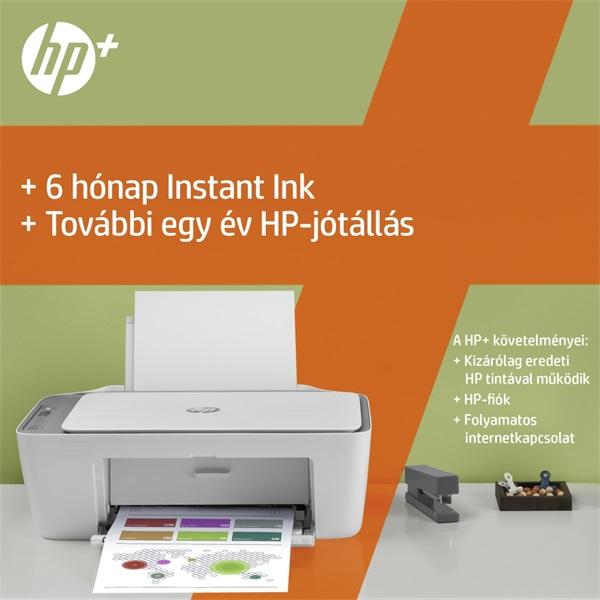 HP DeskJet 2720E tintasugaras multifunkciós Instant Ink ready nyomtató - 18