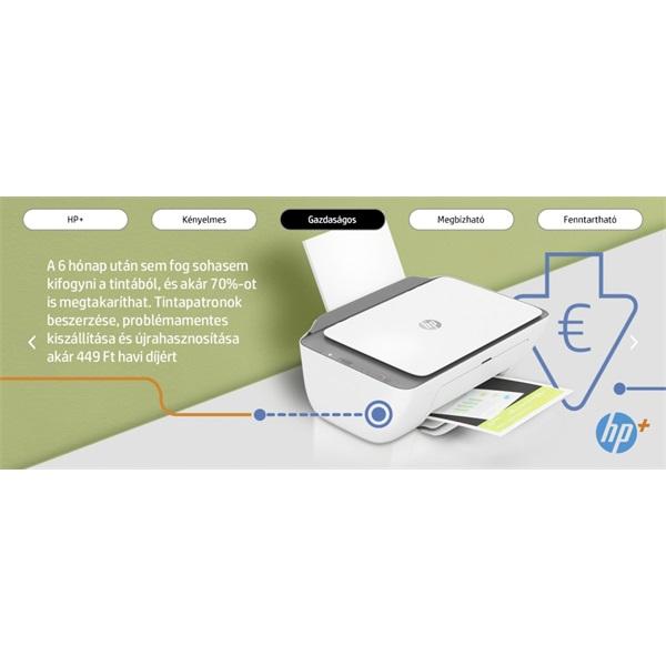 HP DeskJet 2720E tintasugaras multifunkciós Instant Ink ready nyomtató - 21