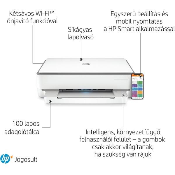 HP Envy 6020E AiO multifunkciós tintasugaras Instant Ink ready nyomtató - 25