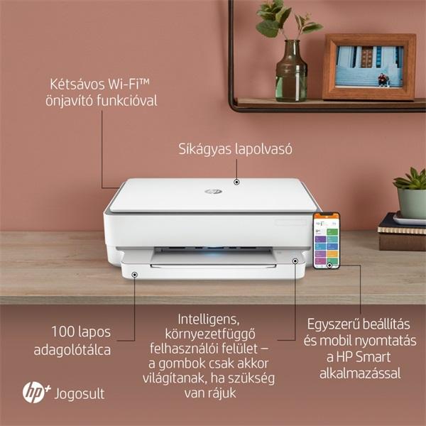 HP Envy 6020E AiO multifunkciós tintasugaras Instant Ink ready nyomtató - 26