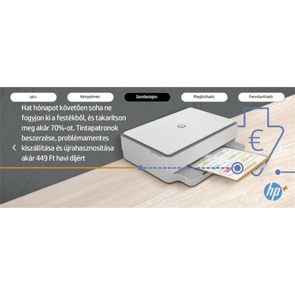 HP Envy 6020E AiO multifunkciós tintasugaras Instant Ink ready nyomtató - 22
